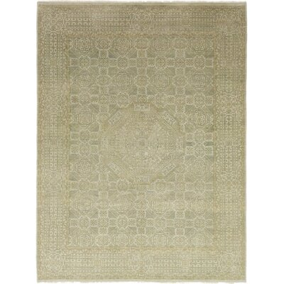 One-of-a-Kind Allphin Hand-Knotted Wool Beige Area Rug