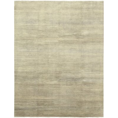 One-of-a-Kind Diederich Hand-Knotted Wool Brown Area Rug
