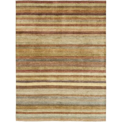One-of-a-Kind Diederich Hand-Knotted Wool Brown/Beige Area Rug