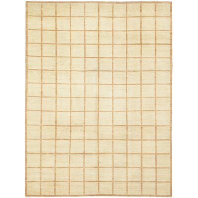 One-of-a-Kind Cobel Hand-Knotted Wool Beige Area Rug