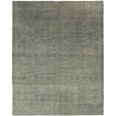 One-of-a-Kind Monceau Hand-Knotted Wool Gray Area Rug