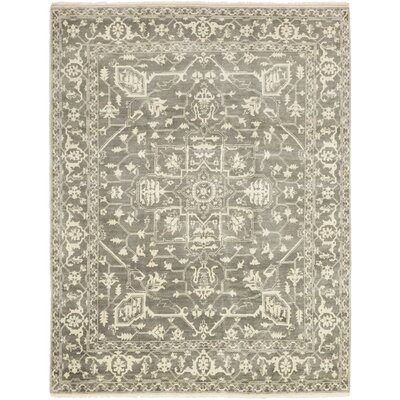 One-of-a-Kind Loews Hand-Knotted Wool Ivory Area Rug