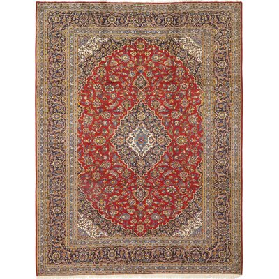 One-of-a-Kind Cornelio Hand-Knotted Wool Red Area Rug