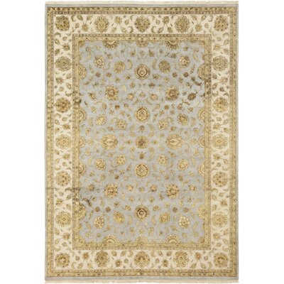 One-of-a-Kind Corrado Hand-Knotted Blue Area Rug