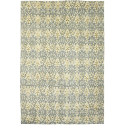 One-of-a-Kind Lobardy Hand-Knotted Wool Gray Area Rug