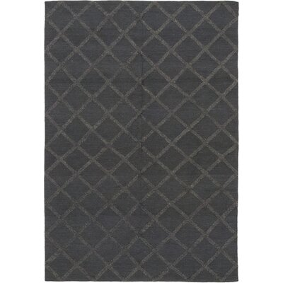 One-of-a-Kind Vannes Hand-Knotted Wool Gray Area Rug