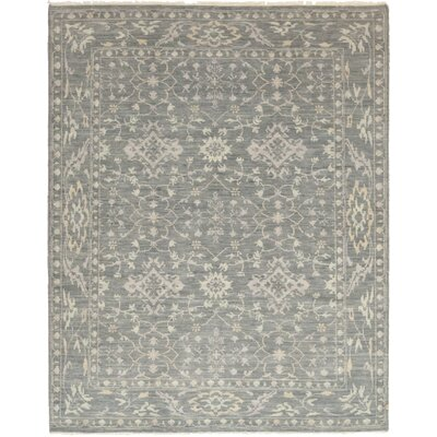 One-of-a-Kind Northwick Hand-Knotted Wool Gray Area Rug