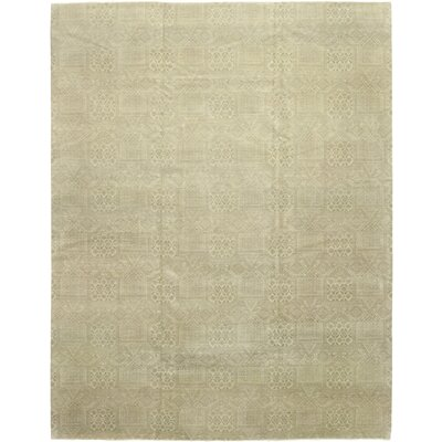 One-of-a-Kind Bahrani Hand-Knotted Wool Brown Area Rug