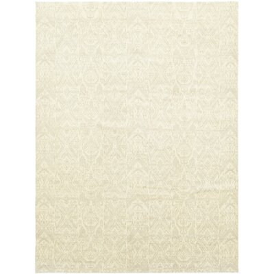 One-of-a-Kind Lochleven Hand-Knotted Wool Beige Area Rug
