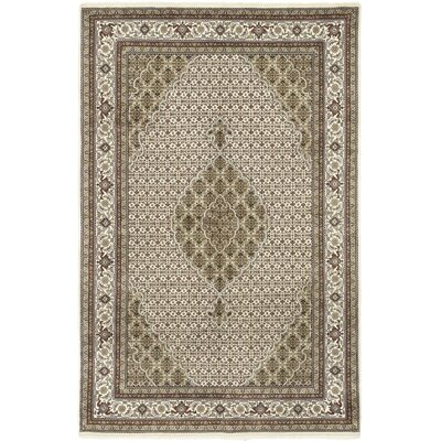 One-of-a-Kind Cortland Hand-Knotted Wool Beige Area Rug