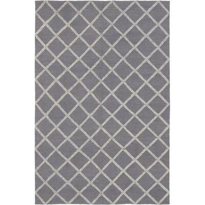 One-of-a-Kind Embree Hand-Knotted Wool Gray Area Rug