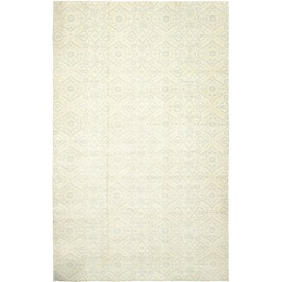 One-of-a-Kind Norton Hand-Knotted Wool Beige Area Rug