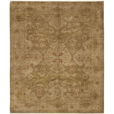 One-of-a-Kind Heimbach Hand-Knotted Wool Brown Area Rug