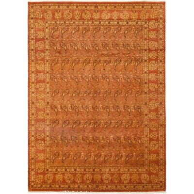 One-of-a-Kind Heimbach Hand-Knotted Wool Red Area Rug