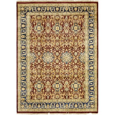 One-of-a-Kind Coulibaly Hand-Knotted Wool Red Area Rug