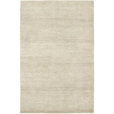 One-of-a-Kind Diederich Hand-Knotted Wool Beige Area Rug