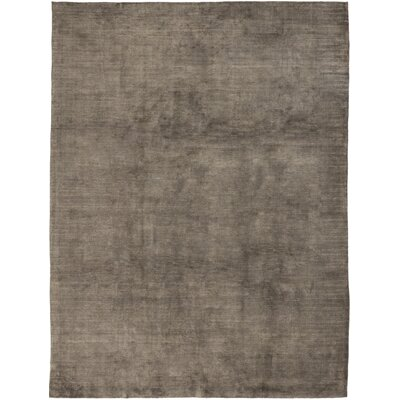 One-of-a-Kind Rowlands Hand-Knotted Brown Area Rug