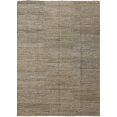 One-of-a-Kind Nassau Hand-Woven Brown Area Rug