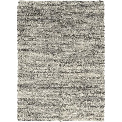 One-of-a-Kind Mastro Hand-Knotted Wool Gray Area Rug