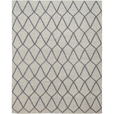 One-of-a-Kind Ellicott Hand-Knotted Wool Gray Area Rug