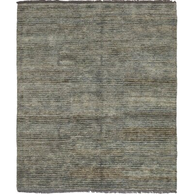 One-of-a-Kind Muskegon Hand-Woven Gray Area Rug