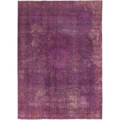 One-of-a-Kind Omane-Brimpong Hand-Knotted Wool Pink Area Rug