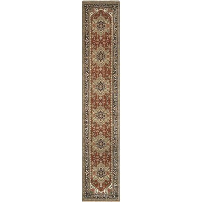 One-of-a-Kind Cort Hand-Knotted Wool Red Area Rug
