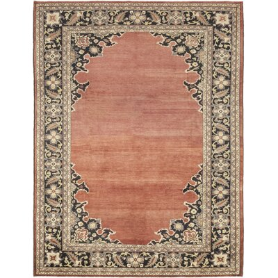 One-of-a-Kind Cowley Hand-Knotted Wool Red Area Rug