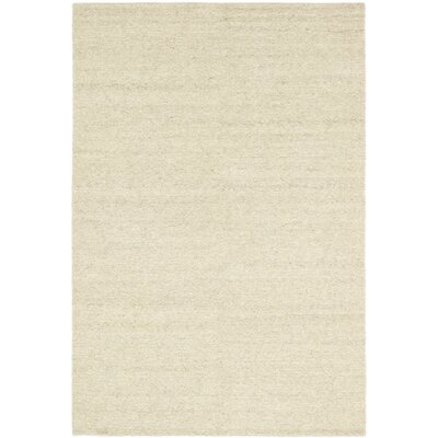 One-of-a-Kind Montgomery Hand-Knotted Wool Beige Area Rug