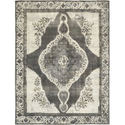 One-of-a-Kind Middletown Hand-Knotted Wool Gray Area Rug