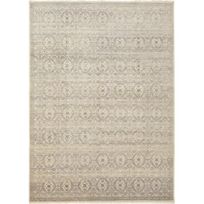 One-of-a-Kind Notre Dame Hand-Knotted Wool Brown Area Rug
