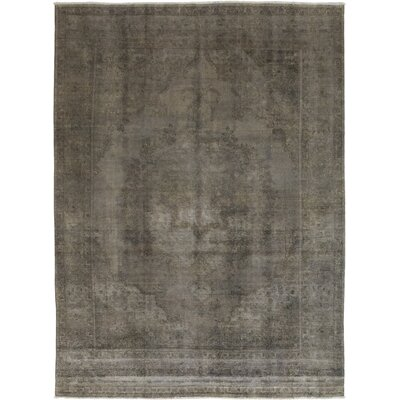 One-of-a-Kind Cases Hand-Knotted Wool Gray Area Rug