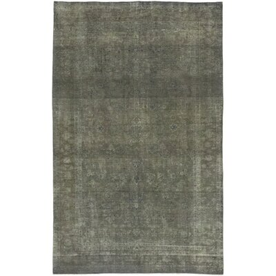 One-of-a-Kind Ciupan Hand-Knotted Wool Gray Area Rug