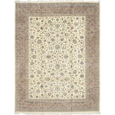 One-of-a-Kind Costigan Hand-Knotted Wool Ivory Area Rug