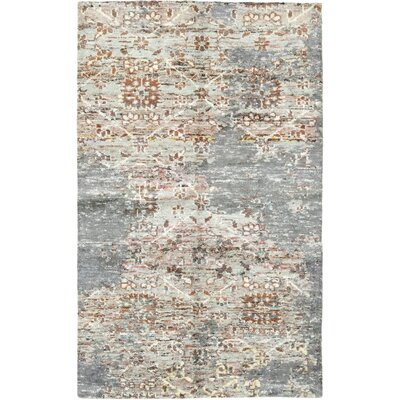 One-of-a-Kind Newtownabbey Hand-Knotted Wool Gray Area Rug