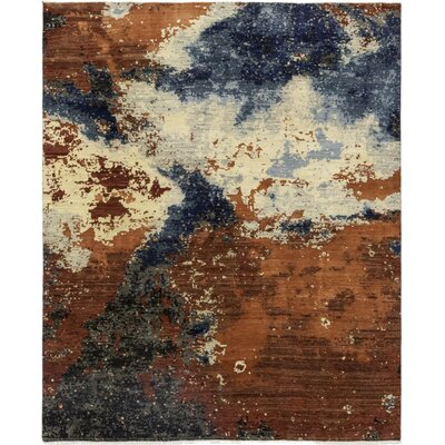 One-of-a-Kind Dunnock Hand-Knotted Wool Beige/Brown Area Rug