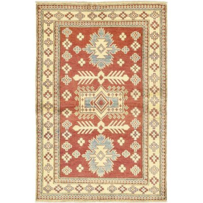 One-of-a-Kind Hein Hand-Knotted Wool Red Area Rug
