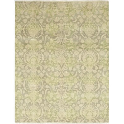 One-of-a-Kind Hamedi Hand-Knotted Wool Beige Area Rug