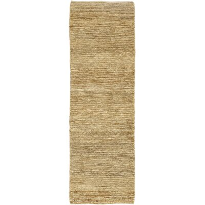 One-of-a-Kind Bexley Hand-Woven Brown Area Rug