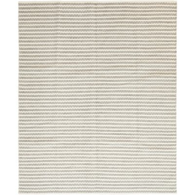One-of-a-Kind Torrisi Hand-Knotted Wool White/Blue Area Rug
