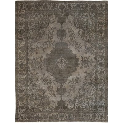 One-of-a-Kind Kussmann Hand-Knotted Wool Gray Area Rug