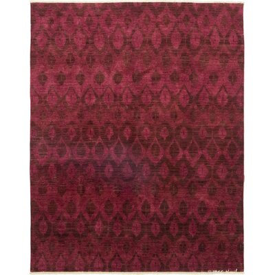 One-of-a-Kind Courter Hand-Knotted Wool Red Area Rug