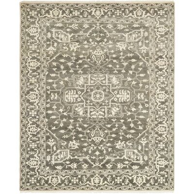 One-of-a-Kind Loftus Hand-Knotted Wool Ivory Area Rug