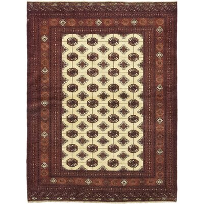 One-of-a-Kind Rowland Hand-Knotted Wool Red Area Rug