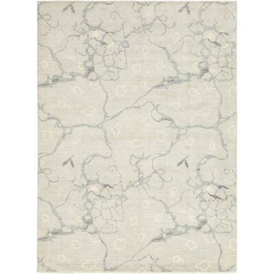One-of-a-Kind Umatilla Hand-Knotted Wool Gray Area Rug