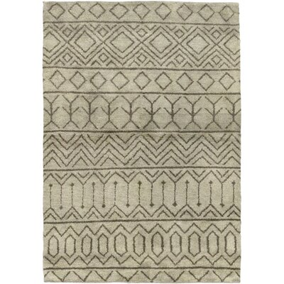 One-of-a-Kind Chelmsford Hand-Knotted Wool Gray Area Rug
