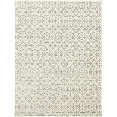 One-of-a-Kind Murphey Hand-Knotted Wool Gray Area Rug