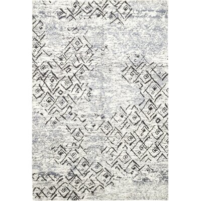 One-of-a-Kind Donovan Hand-Knotted Wool Blue Area Rug