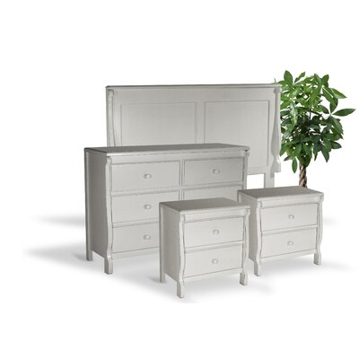 Bachelder Queen Panel 4 Piece Bedroom Set