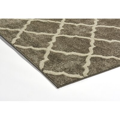 Aloysius Gray Area Rug Rug Size: Rectangle 710 x 10